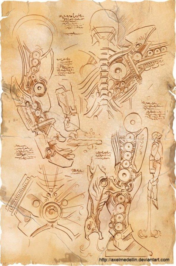 Et si Léonard de Vinci avait imaginé Iron Man (2)