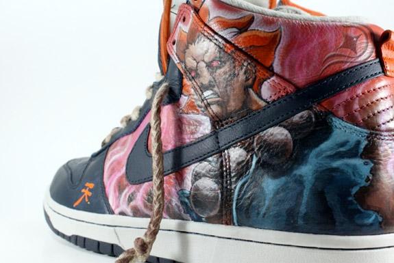 Nike Dunk High « Akuma » by Diversitile (2)