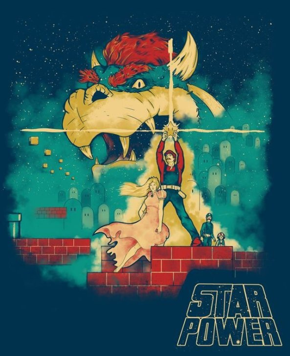 Super Mario X Star Wars (1)