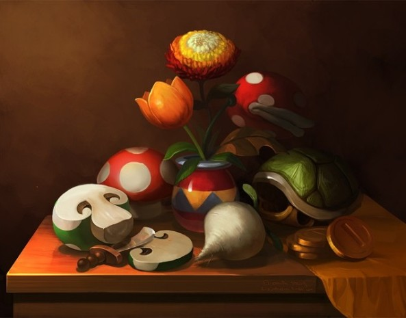 Mario-Still-Life-by-Elizabeth-Sherry-640x502