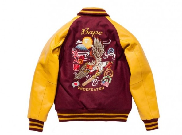 UNDFTD-X-Bape-Alliance-Varsity-Jacket-2