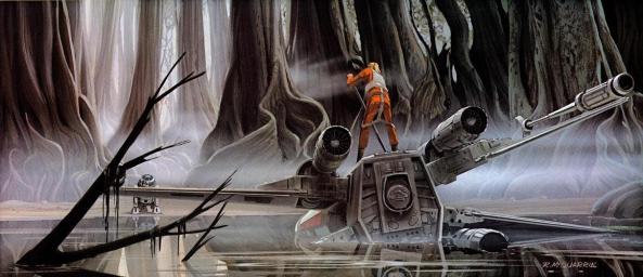 Illustrations-Originales-du-Storyboard-de-Star-Wars-17