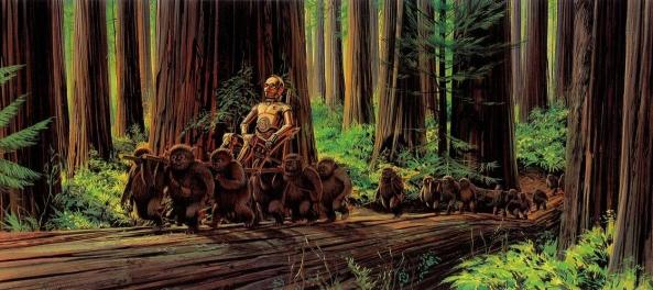 Illustrations-Originales-du-Storyboard-de-Star-Wars-27