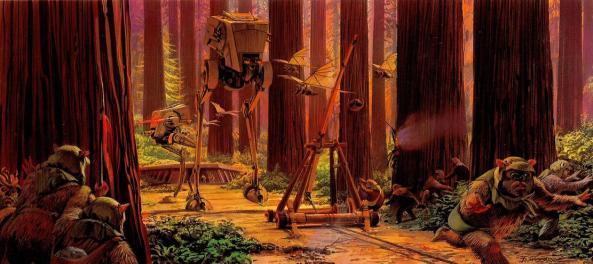 Illustrations-Originales-du-Storyboard-de-Star-Wars-28