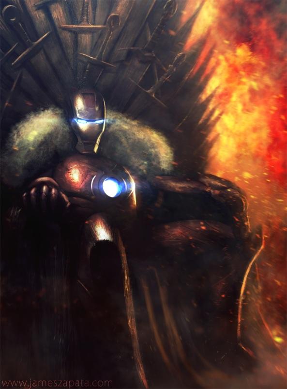 Iron Man sur le Trone de Fer