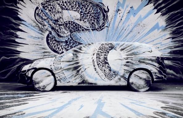 Volvo Art Session 2012 Timelapse (2)