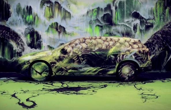 Volvo Art Session 2012 Timelapse (5)