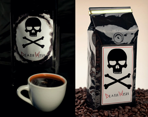 Death Wish Coffee 200% de caféine en plus!