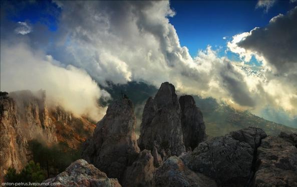 Le Mont Ai Petri à différents moments de l'année (10)