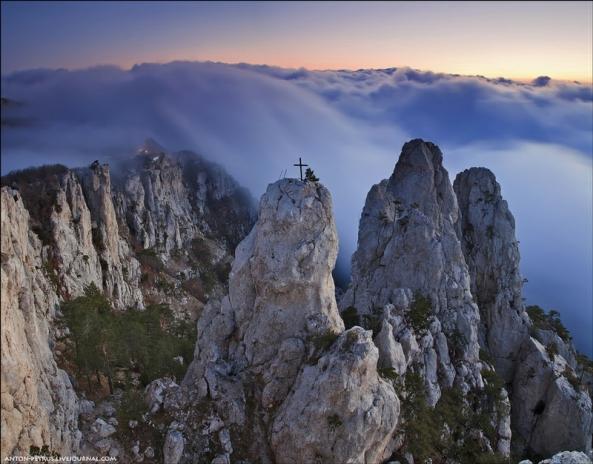 Le Mont Ai Petri à différents moments de l'année (14)