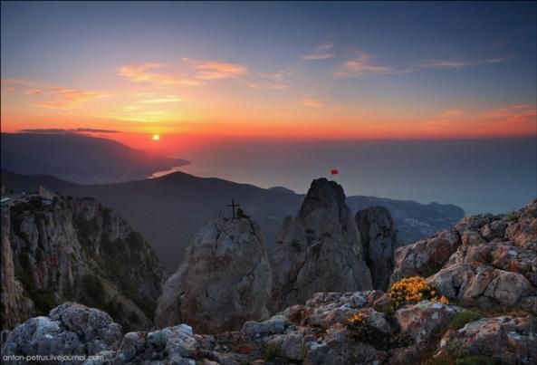Le Mont Ai Petri à différents moments de l'année (7)