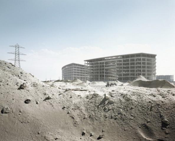 """Abandoned Dubai"" par Richard Allenby-Pratt (4)"