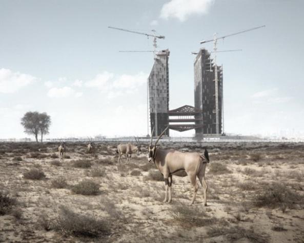 """Abandoned Dubai"" par Richard Allenby-Pratt (6)"