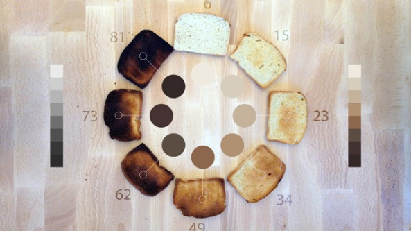 Hue, vos toasts à la couleur désirée