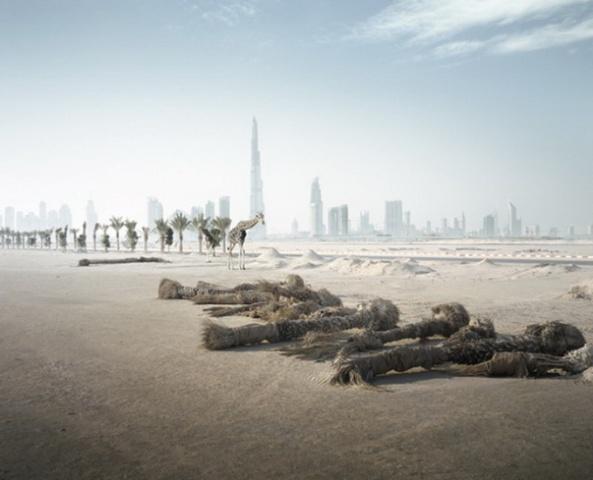 """Abandoned Dubai"" par Richard Allenby-Pratt"
